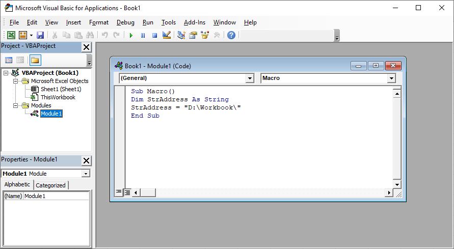 ایجاد یک Workbook خام توسط زبان برنامه نویسی وی بی ای(VBA)